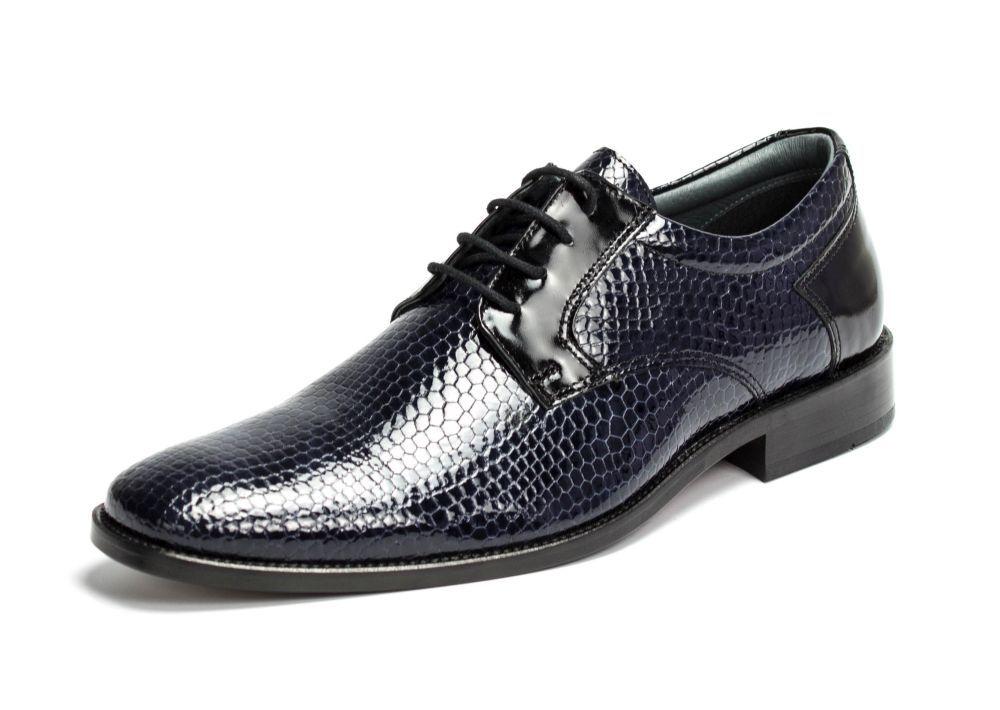 402 blau-schwarz Kroko