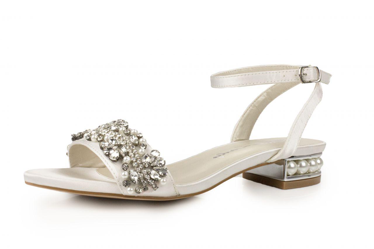 flache Brautschuhe Sandalen