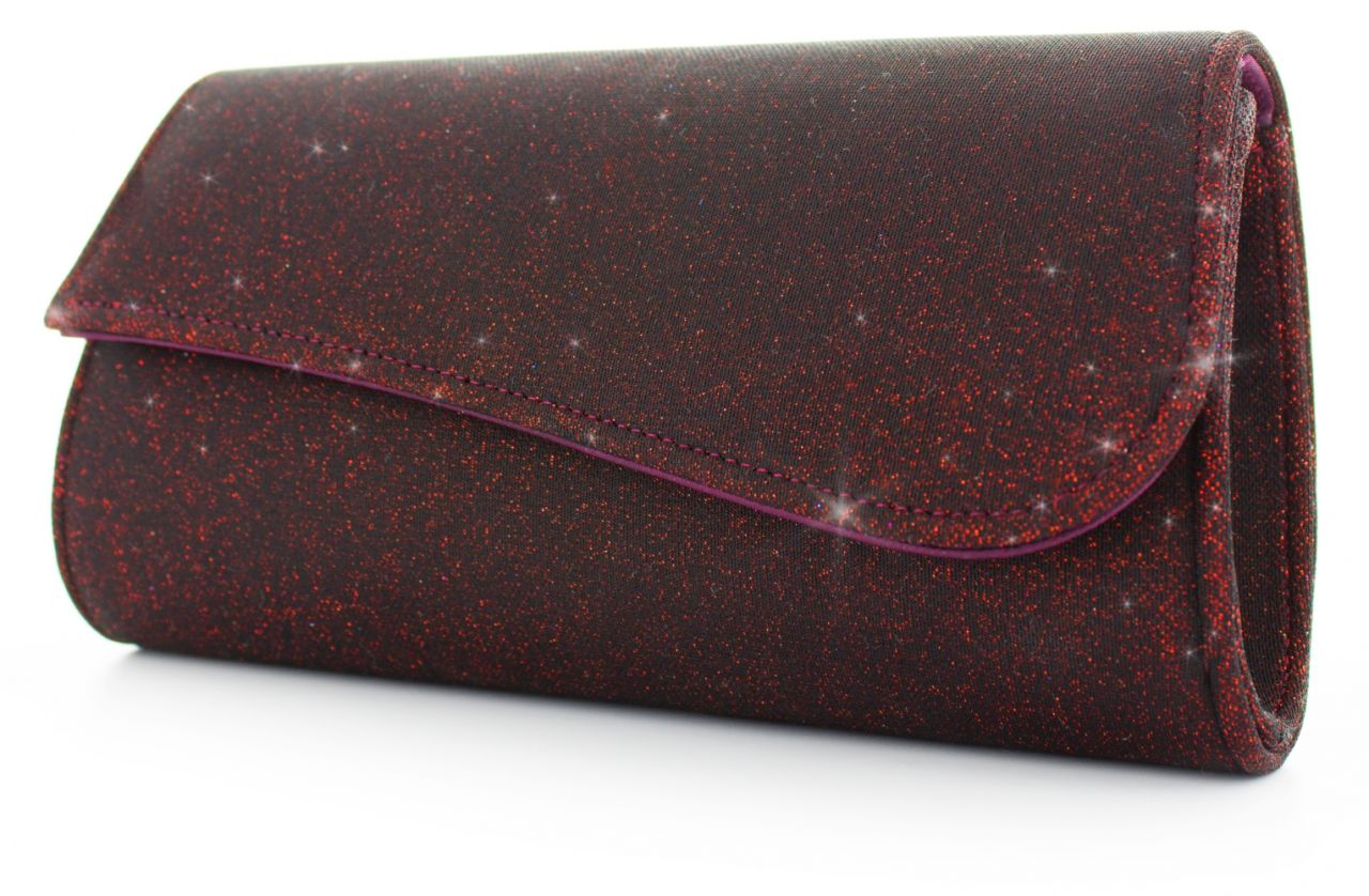 Julia magic-red - Softglitter Handtasche