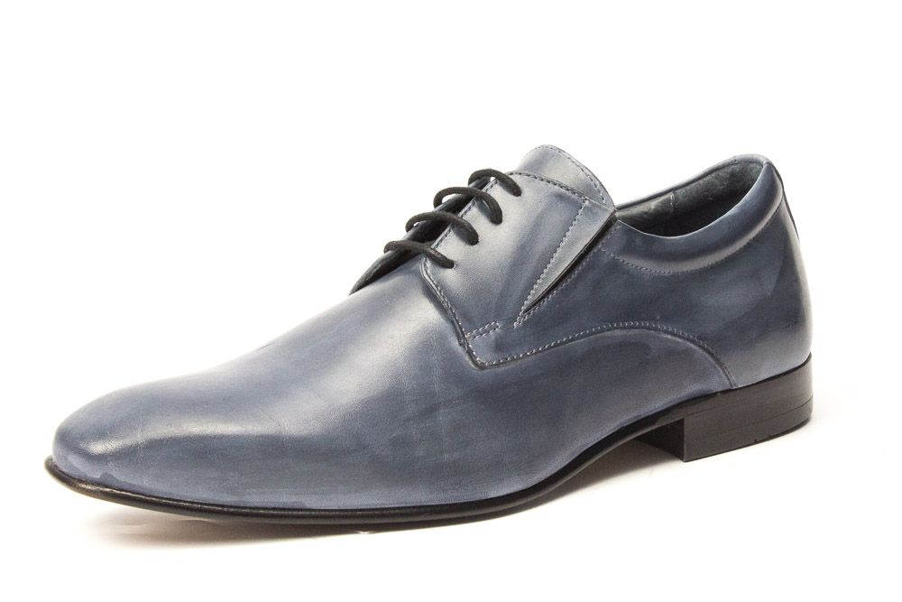 Romeo graue Patina Herrenschuhe