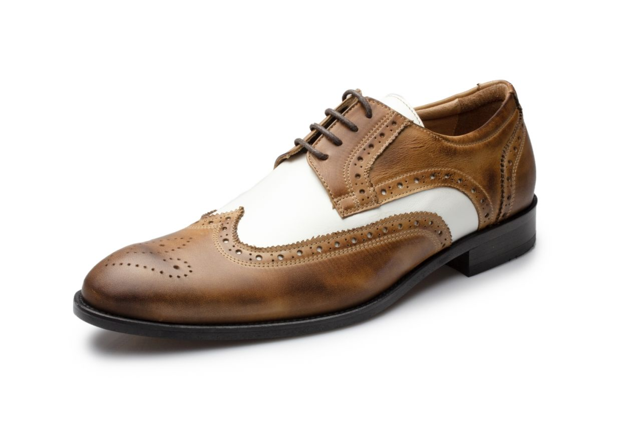 485-S cognac-creme Budapsester