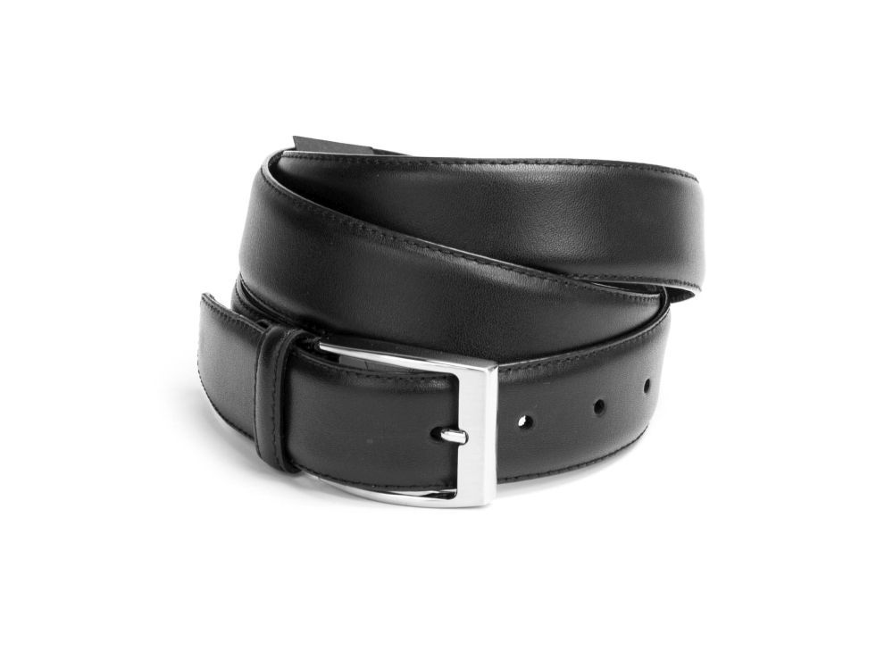 G10 schwarz - ROMEO Dornschnalle Gürtel